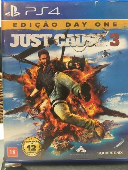 Just Cause 3 Ps4 Portugues Mídia Fisica Blu-ray Cd Original