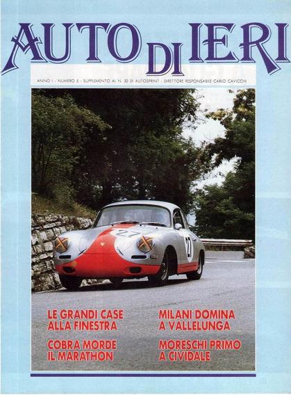 Auto Di Ieri - Ano I Nº 5 - Encarte - Auto Sprint
