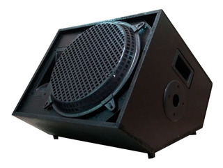 Caixa Acústica Som Retorno Palco 270w Rms Passiva Music Way