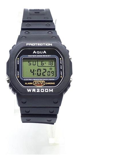 Aqua Gp-519 Relógio Do Bolsonaro