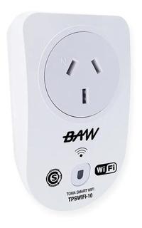 Enchufe Toma Inteligente Smart Wifi 220v 10a App Celular Voz