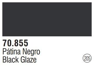 Tinta Black Glaze 70855 Model Color Vallejo Modelismo