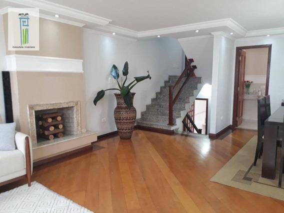 Sobrado Com 4 Dormitórios À Venda, 300 M² Por R$ 1.600.000 - Jardim São Paulo(zona Norte) - São Paulo/sp - So0141