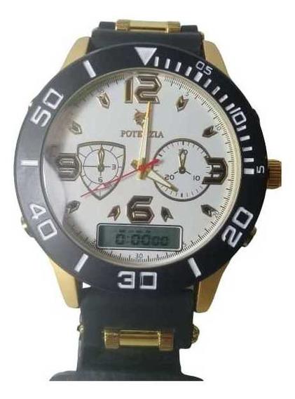 Relógio Pulso Masculino Digital Analogico Esportivo Militar