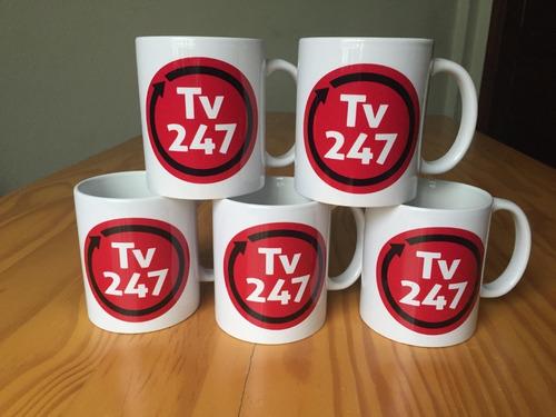 Kit Com 5 Canecas Da Tv 247