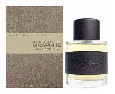 Perfume Montana Graphite Oud Edition Montana Men Edt 100ml
