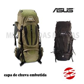 Mochila Cargueira Camping 70 Lts Impermeável Reforçada Asus