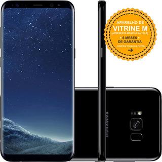 Samsung Galaxy S8 Plus G955f 128gb Preto Vitrine Mancha Tela
