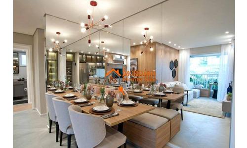 Imagem 1 de 26 de Apartamento Com 2 Dormitórios À Venda, 55 M² Por R$ 300.000,00 - Vila Itapegica - Guarulhos/sp - Ap2783