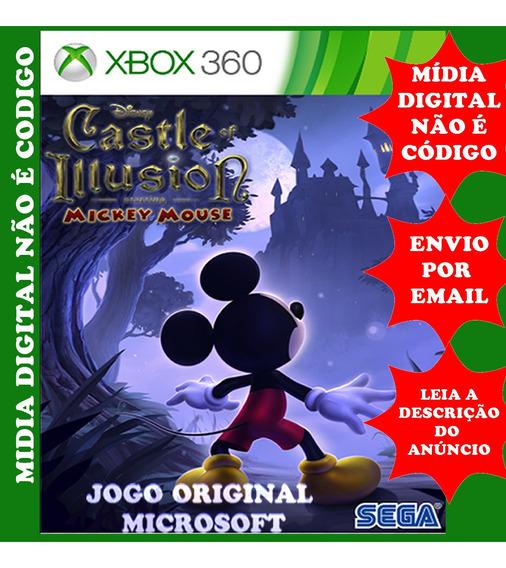 Mickey Castelo Das Ilusões Midia Digital Xbox 360