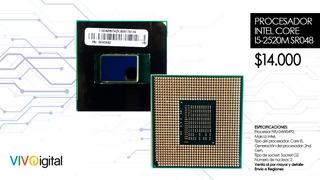 Procesador Intel Core I5-2520m Sr048