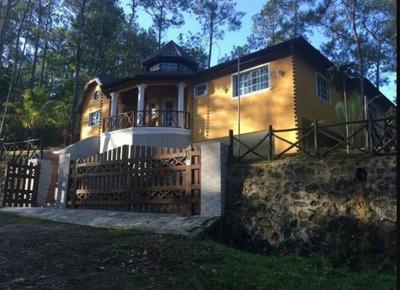 Hermosa Villa 3hab Amueblada En Jarabacoa, La Vega