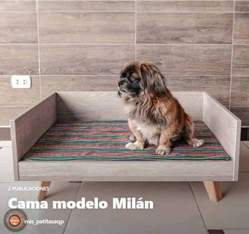 Imagen 1 de 3 de Cama Para Perro + Cojín / Modelo: Milán / Mediano