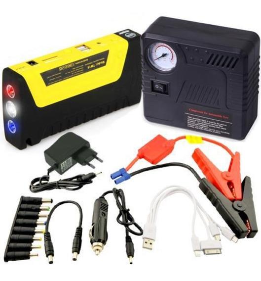 Auxiliar Partida Emergência Multi-função Bateria Compressor