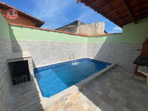 Imagem 1 de 14 de Casa À Venda, 76 M² Por R$ 295.000,00 - Jussara - Mongaguá/sp - Ca5234