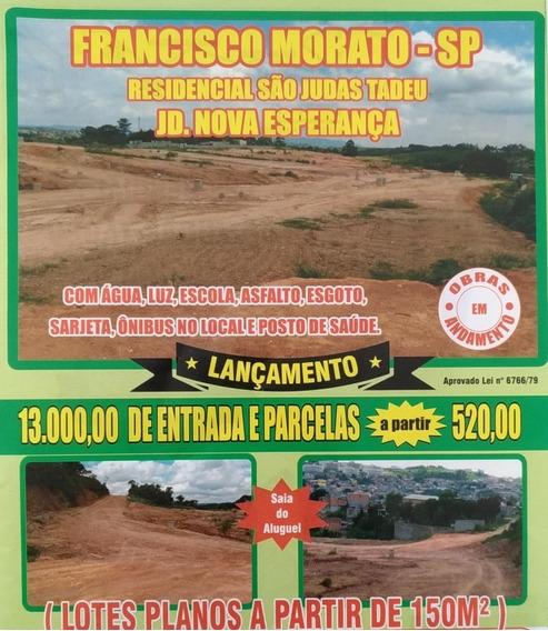 Terreno Para Venda No Jardim Nova Esperança Em Francisco Mor - 138