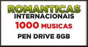 Pen Drive 8gb Romanticas Internacionais