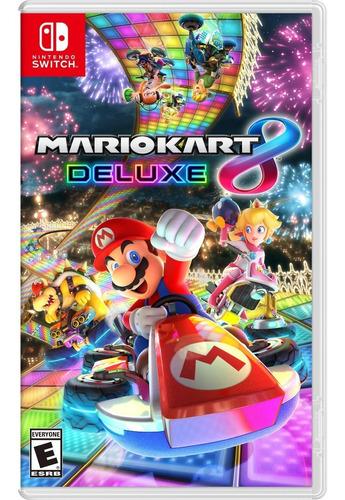 Juegos Nintendo Switch Mario Kart 8 Deluxe Nuevo A Meses /u