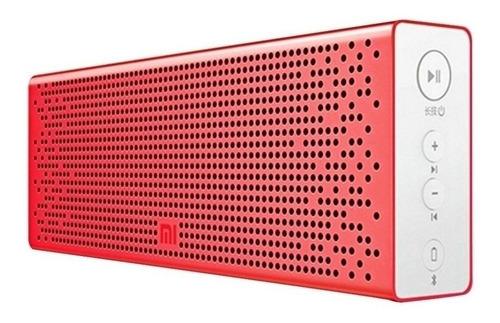 Caixa de som Xiaomi Mi Bluetooth Speaker portátil red