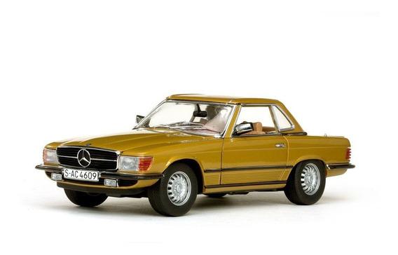 1977 Mercedes Benz 350 Sl Hard Top - Escala 1:18 - Sun Star