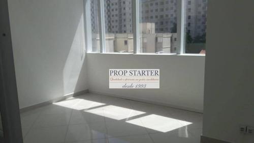 Imagem 1 de 3 de Conjunto Para Alugar Prox. A Av Interlagos, Sala Com34 M² Por R$ 1.600/mês - Jardim Marajoara - São Paulo/sp  Propstarter Adm.imoveis - Cj0057