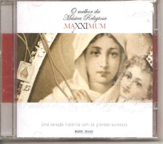 Cd Melhor Da Musica Religiosa - Maxximum -c/ Antonio Marcos