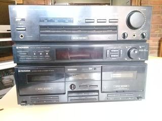 Amplificador/deck De Cassette Pioneer