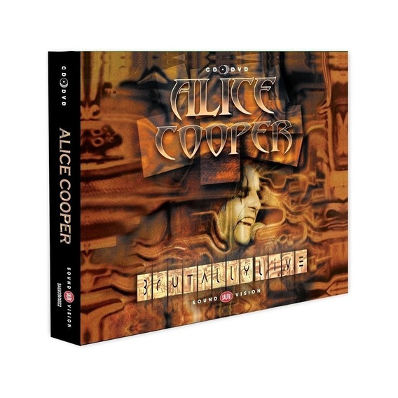 Alice Cooper - Brutally Live ( Digipack Cd + Dvd )