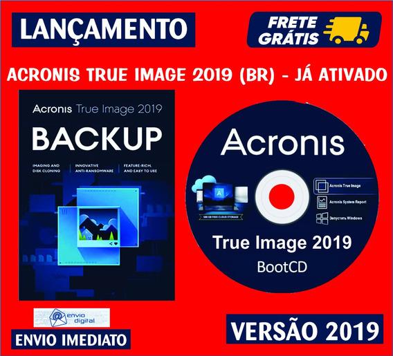 Acronis True Image 2019 + Boot Cd / Envio Digital Imediato