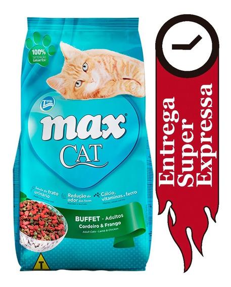 Ração Max Cat Buffet Cordeiro E Frango Gatos Adultos 20kg