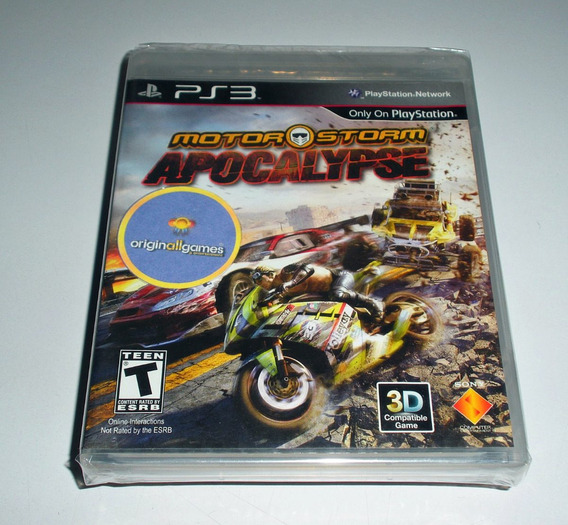 Motor Storm Apocalypse ¦ Jogo Ps3 Original Lacrad ¦ M Física