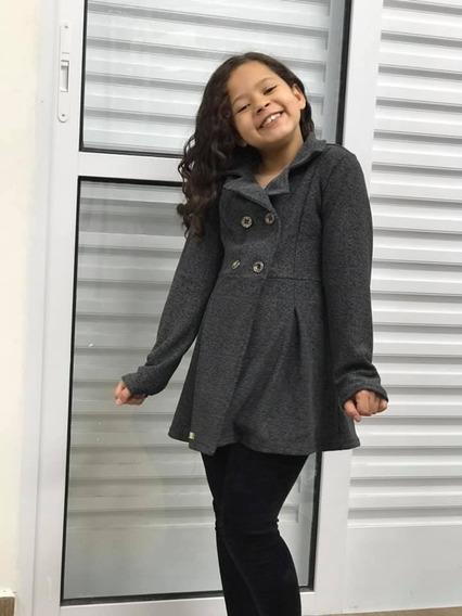 Blusa Menina Infantil Frio Casaquinho Sobretudo