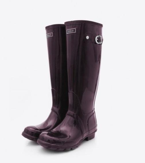 Blaque Botas Lluvia Violetas N° 39 Poco Uso