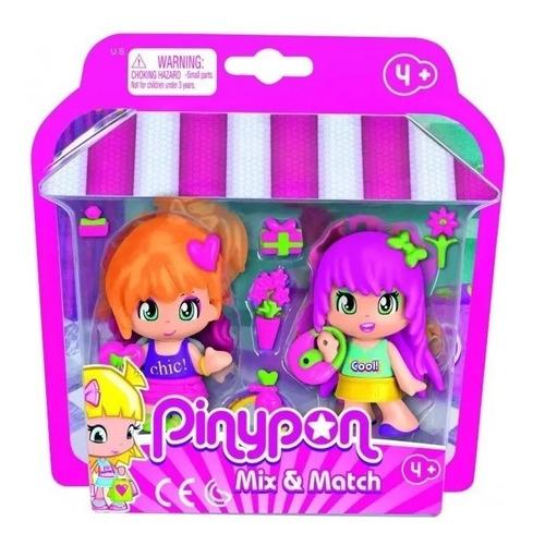 Imagen 1 de 5 de Pinypon Amigas De Shopping Set Figuras Accesorios 15605 Edu