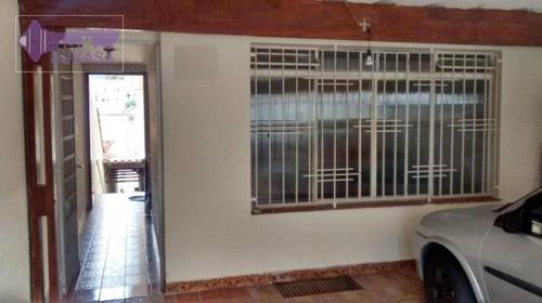 Casa Com 3 Dormitórios À Venda, 189 M² Por R$ 349.000,00 - Vila Linda - Santo André/sp - Ca0235