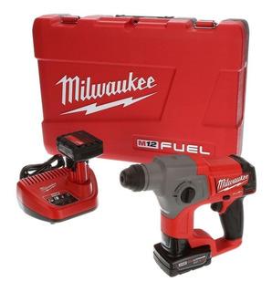 Martillo Rotopercutor A Bateria Milwaukee M12 Fuel 2416-259a