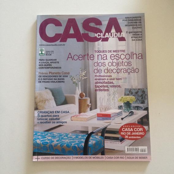 Livro Casa Claudia 542 Out2006 Escolha Dos Objetos Decor C2
