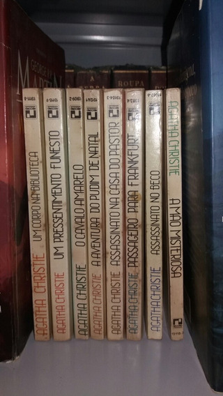 Agatha Christie - Editora Record ( + 20 De Frete)