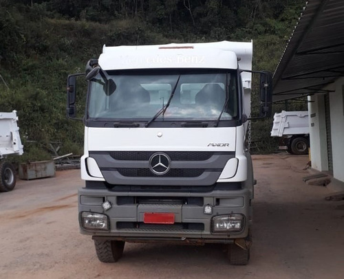 Imagem 1 de 15 de Mercedes-benz  Axor 4144  6x4 Ano 2017 Caçamba Rossetti