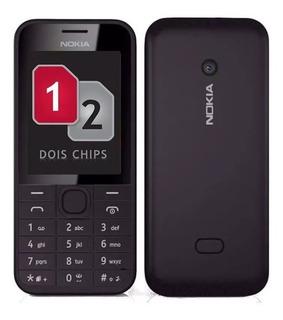 Celular Nokia Asha 208 Dual Sim Dois Chip Câmera E E.sd/card