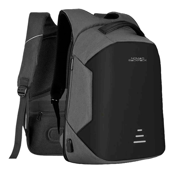 Mochila Backpack Impermeable Reflejante Usb