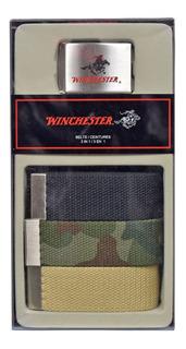 Pack X 3 Cinturones Golf Winchester 3 En 1