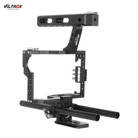 Viltrox Vx-11 Liga De Alumnio Vdeo Gaiola Kit Estabilizador
