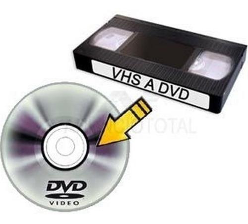 Digitalizar Vhs A Dvds