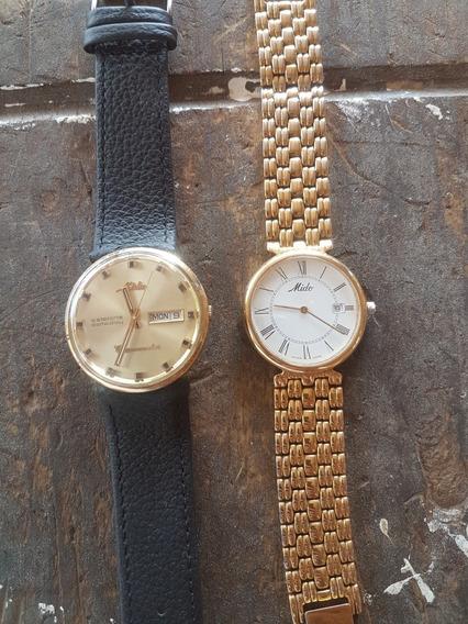 Dos Relojes Mido Orijinales