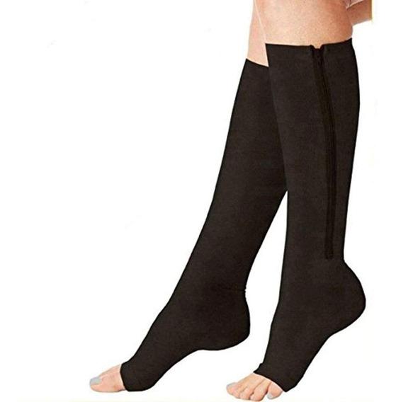 Calcetas Compresión Medias De Cierre Como Power Legs