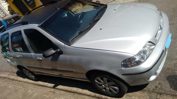 Fiat Palio Week 1.6 Completo Prata 2003 Gasol E Ótimo Estado