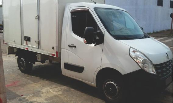 Caminhão Renault Master Ch Cabine Com Bau