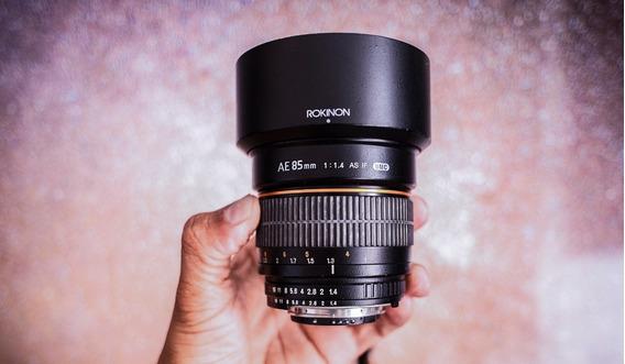 Lente Rokinon 85mm 1.4 Mount Nikon