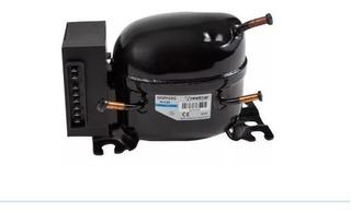 Compressor + Unidade Elet. Geladeira 12/24v Caminhão Onibus